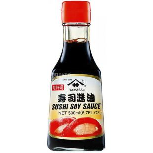 Soy sauce, 500 ml, TM Yamasa Sushi