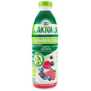 Lactel, Лактония Лесная ягода, Закваска 1,5%, 870 г