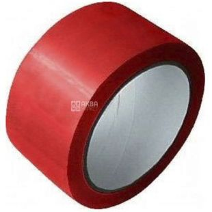 Adhesive tape, 48 mm x 60 m, red, TM Promtus