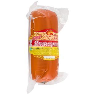 Янтарный, Сырный продукт, плавленный копченый, 30%, 400 г