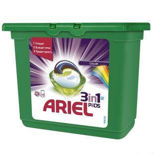 Ariel Pods Color&Style, Капсули для прання, 23 шт. по 28,8 г