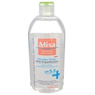 Mixa Sensitive Skin Expert , Мицеллярная вода для жирной и комбинированной кожи, L`oreal 400 мл