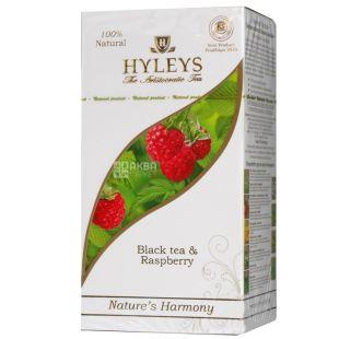 Hyleys Nature's Harmony, 25 пак, Чай чорний Хейліс Гармонія Природи, Малина