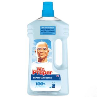 Mr.Proper, Delicate cleaning, Cleaning agent, 1 l