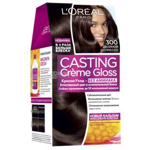 L'Oreal Paris Casting Creme Gloss, Краска для волос, Тон 300, Двойной эспрессо