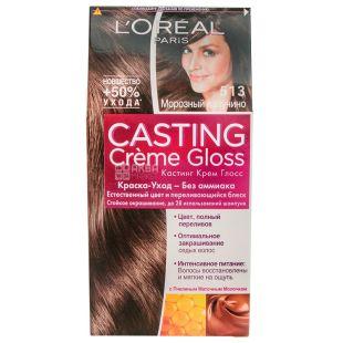 L'Oreal Paris Casting Creme Gloss, Краска для волос, Тон 513 Морозный капучино, 160 мл