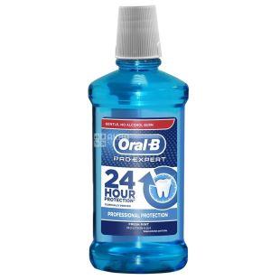 Oral-B Professional Protection, Ополаскиватель для ротовой полости, свежая мята, 500мл