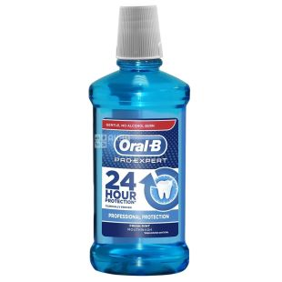 Oral-B Professional Protection, Ополіскувач для ротової порожнини, свіжа м'ята, 500мл