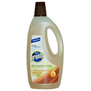 Pronto, Средство для мытья полов, с миндальным маслом, Интенсивный уход, 750 мл