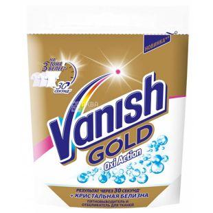 Vanish Gold Oxi Action, Пятновыводитель и отбеливатель для тканей, 250 г