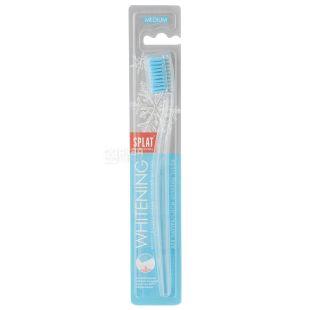 Splat, Professional Whitening, зубна щітка, відбілююча, механічна, середньої жорсткості, 1 шт