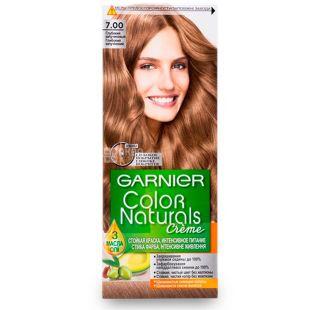 Garnier Color Naturals, Краска для волос, Тон 7.00 Глубокий капучиновый