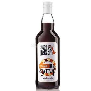 Sweet Madam Caramel, Caramel Syrup, 0.7 L, glass