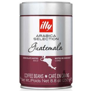 illy, Monoarabica Guatemala, 250 г, Кава Іллі, Гватемала, середнього обсмаження, в зернах, ж/б