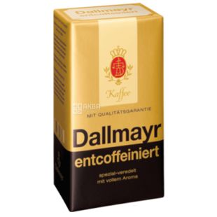 Dallmayr Prodomo Entcoffeiniert, Кофе молотый безкофеиновый, 500 г