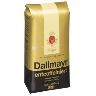 Dallmayr Prodomo Entcoffeiniert, 500 г, Кофе в зернах без кофеина Далмайер Промодо