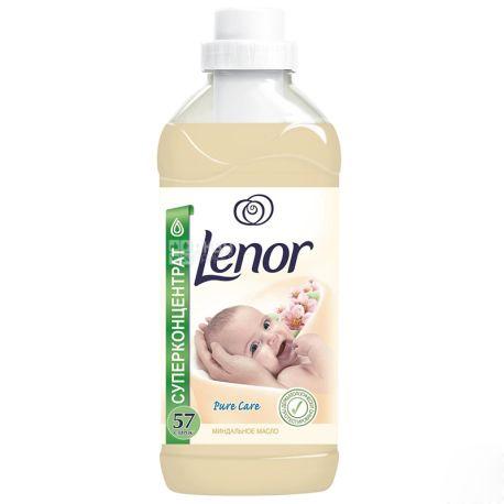 Lenor, Кондиционер для белья, Миндальное масло, 2 л