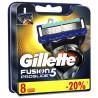 Gillette Fusion5 ProGlide, Змінні картриджі для гоління, 8 шт.