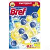 Bref Сила Актив Лимонна свіжість, Блоки для унітазу, 3 шт. по 50 г