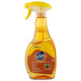 Pronto, Furniture care 5in1, cleanser, spray, 500 ml