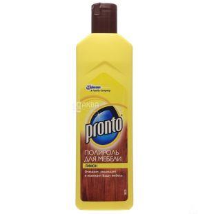 Pronto, полироль для мебели, лимон, 300 мл