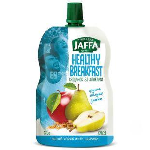 Jaffa, Healthy Breakfast, Груша-яблоко-злаки, 120 г, Джаффа, Смузи натуральный