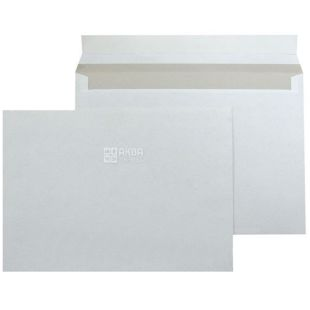 Envelope C6 (114x162 mm), white, 100 pcs., Without tearing tape
