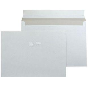 Конверт С6 (114х162 мм) белый 100 шт., без отрывной ленты