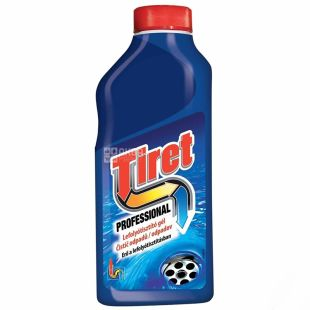 Tiret Sewer Pipe Cleaner, Liquid, 500 ml
