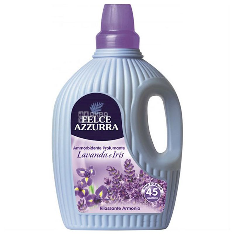 Felce Azzurra Lavander and Iris, Fabric Softener, 3 L