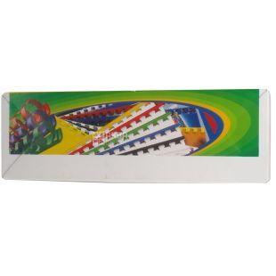 D&Art, Пружини для брошурування пластикові, чорні, Ф8, 100 шт.