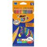 BIC Evolution, Colored pencils, 12 pcs.