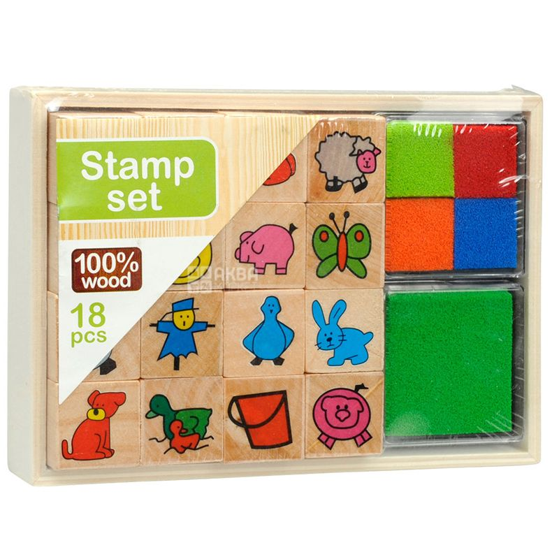 Animals, Stamp Set, Box