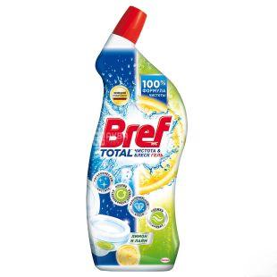 Bref, Средство для чистки унитаза, Лимон и лайм, 700 мл