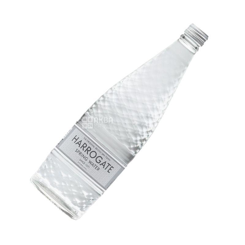 Harrogate, 0,75 l, Sparkling water, Mineral, glass, glass