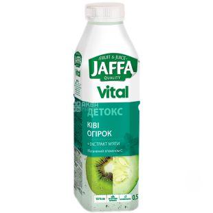 Jaffa, Vital Detox, 0,5 л, Джаффа, Напиток соковый, Киви-огурец с экстрактом мяты, ПЭТ