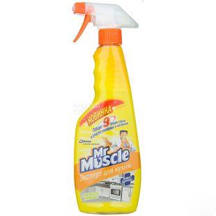 Mr. Muscle Эксперт, Средство для кухни, Свежесть лимона, 450 мл