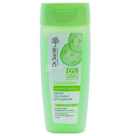 Dr.Sante Gel Peeling Cleanser for Normal and Oily Skin, 200 ml