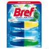 Bref Duo Active, Блок для унитаза, Свежесть, 3*50 мл