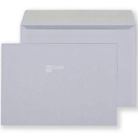 Конверт С5 (162х229 мм) белый 100 шт., с отрывной лентой и окном