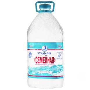 Куяльник Семейная, Вода негазированная, 6 л