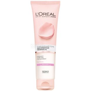 L'oreal, Гель очищающий для сухой и чувствительной кожи, 150 мл