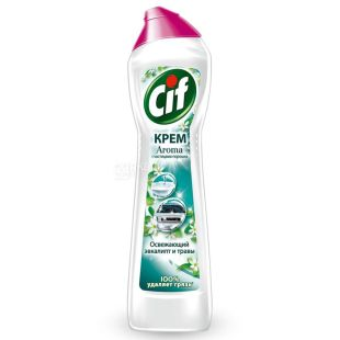 Cif, Green Freshness, Cleaning Cream, 500 ml