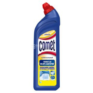 Comet, Lemon, Universal Gel, 1 L