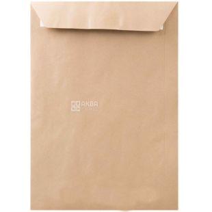 Envelope C4 (229х324 mm) Kraft, 50 pcs., With a tear-off tape