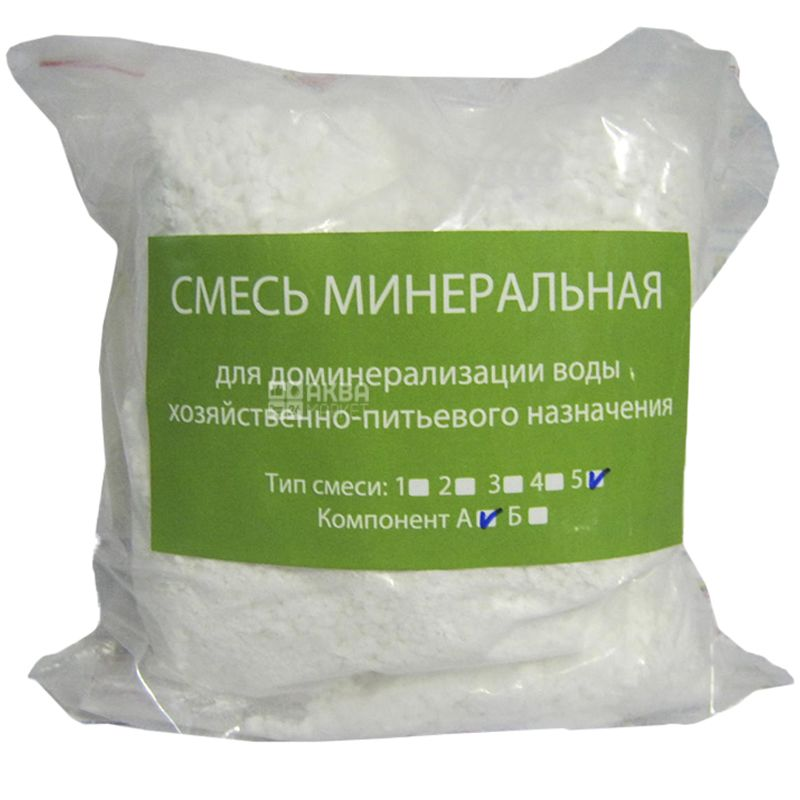 Ecosoft Соль для доминерализации воды №5, 1 кг