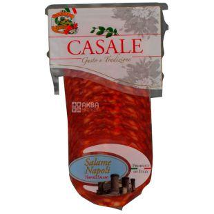 Casale Salame Napoli Колбаса сыровяленая Салями, нарезка, 80 г