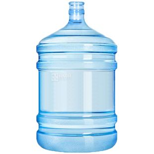 Water bottle with handle, 18.9 l, polycarbonate