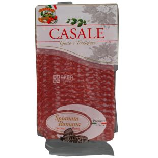 Casale Spianata Romana Колбаса салями римская сыровяленая нарезка, 80 г