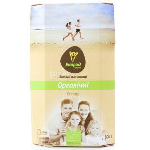 Экород, Special Creamy, 300 г, Хлопья Спешл Крими, овсяные, сливочный вкус, органические